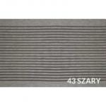 Deska tarasowa Duna - kompozytowa ryflowana 21x146x2400mm Szary