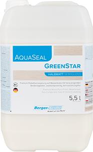 Lakier wodny AquaSeal Green Star 5,5l mat