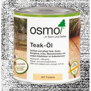 OSMO 007 Teak bezbarwny olej do tarasów 25l