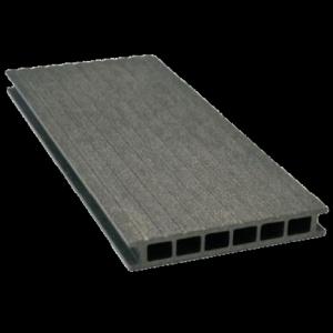 Deska tarasowa GAMRAT - kompozytowa ryflowana 25x160x4000 Grafit Wersja L