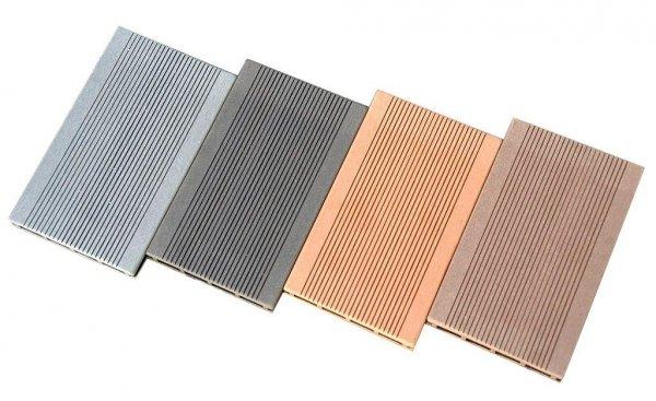 Deska tarasowa kompozytowa iDeck Luna brąz ryflowana 25x150x3000mm