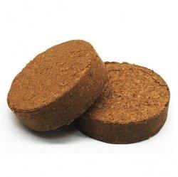 Podłoże kokosowe włókno COCO-GRUNT dyski 0,6 kg