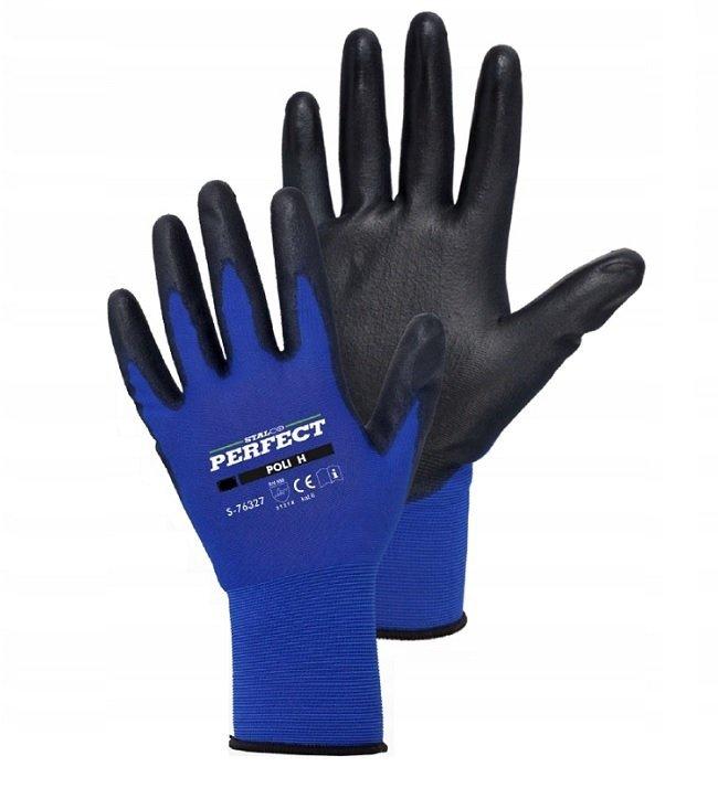 Rękawice robocze cienkie STALCO Perfect POLI H 8