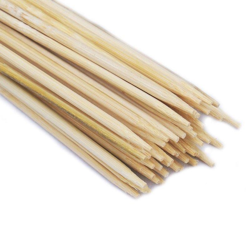 SZPILKI BAMBUSOWE 30cm patyczki z bambusa 100szt.