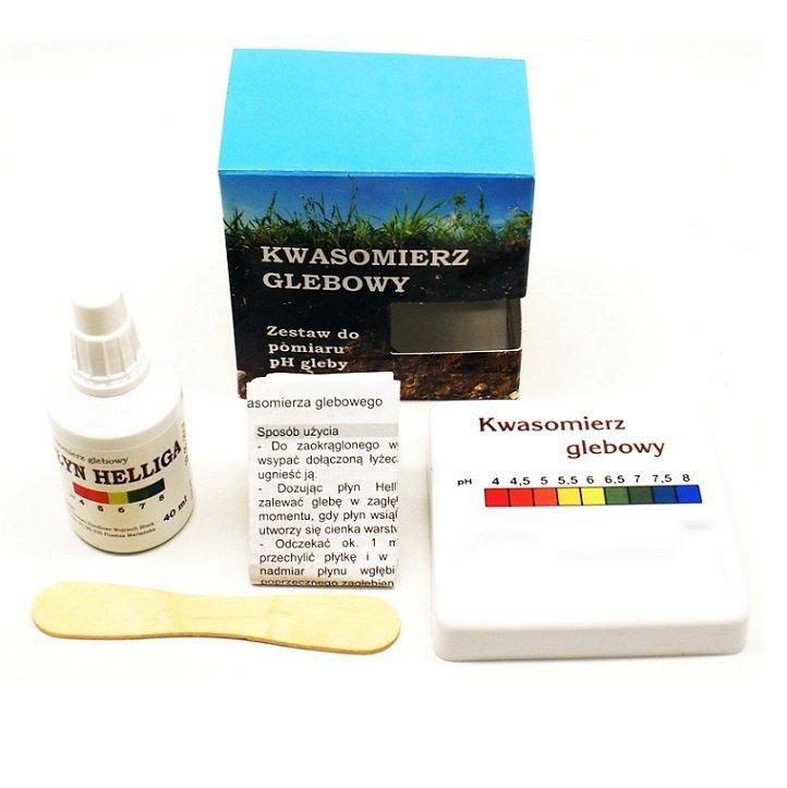 Kwasomierz glebowy płyn HELLIGA pH metr NAJLEPSZY