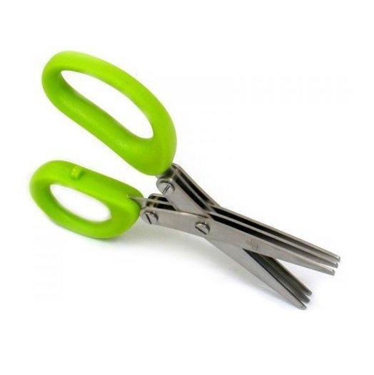 nożyczki do ziół zielone