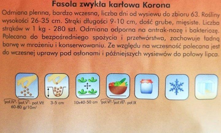 Fasola Korona nasiona Plantico