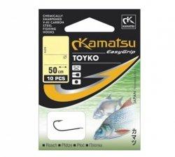Kamatsu TOYKO Haczyki z Przyponem r.10 10szt