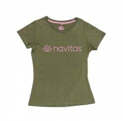 Navitas Koszulka T-shirt WOMEN TEE GREEN