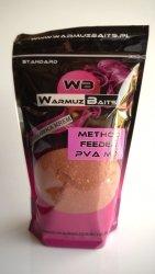 Warmuz Baits Method Feeder PVA Mix Truskawka Krem 900g