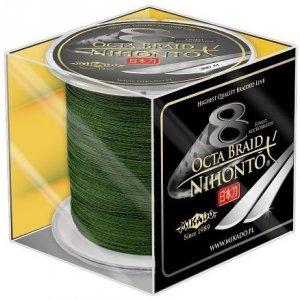 Mikado Plecionka NIHONTO OCTA BRAID 0,26mm Green