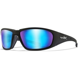 Wiley X Okulary WX BOSS CAPTIVATE Blue Mirror Smoke Grey CCBOS09