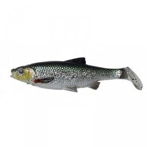 Savage Gear LB  Roach paddle tail 12,5cm 22g Green Silver UV