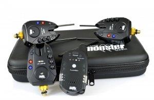 Monster Fishing Zestaw Sygnalizatorów Brań MF-2014B RGB 3+1