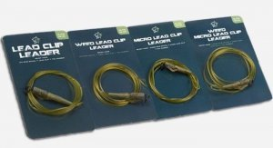 Nash Weed Lead Clip Leader 0,75m T8153