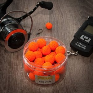 Meus Kulki Pop up Fluo Challenge 15mm King Spices