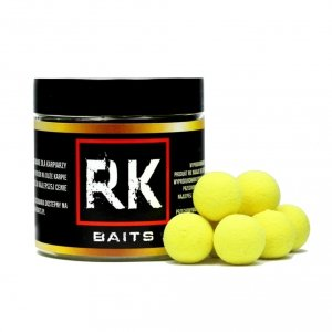 RK Baits Kulki proteinowe Pop Up 15mm 125ml Skisłe masło