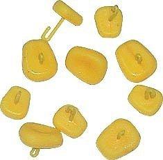 Jaxon sztuczna kukurydza pływająca Stopery do kulek Mała 10szt.