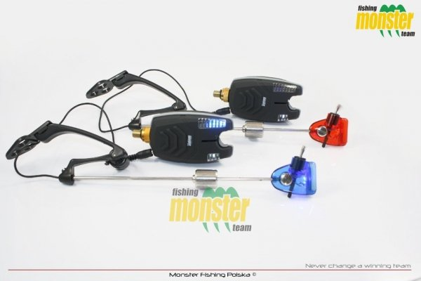 Monster Fishing Zestaw 2xSW11 + 2xMF212 w Etiu