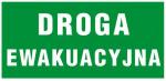 Znak Droga Ewakuacyjna 150x300