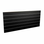 Panel sklepowy CZARNY ze wsuwkami aluminiowymi 200 x 90 cm F15