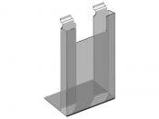 Wieszak, stojak z plexi na ulotki A4 do Panelu - 31 cm x 22 cm