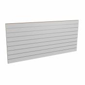 Panel sklepowy SZARY ze wsuwkami aluminiowymi 200 x 90 cm F10