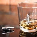 Metalowe naboje do drinków