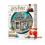 Harry Potter - Puzzle 3D Chatka Hagrida