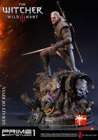 Wiedźmin - Figurka Geralt of Rivia 66  cm - Witcher 3 Wild Hunt