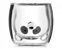 Szklanka panda podwójne ścianki