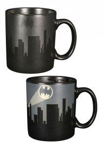 Batman miasto - Kubek termoaktywny - zmieniający kolor