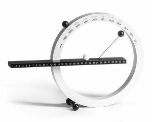 Kalendarz (wieczny) magnetyczny biały