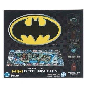 Batman - Puzzle 4D mini Gotham City 839 el.