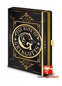 Harry Potter - Zeszyt A5 Bank gringotta Premium