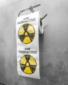 Papier toaletowy Radioactive zone XL