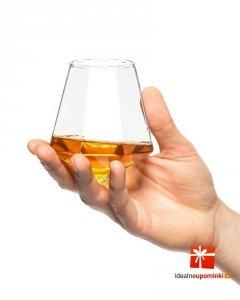Diamentowa szklanka do whisky