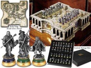 Ekskluzywne szachy - Władca Pierścieni