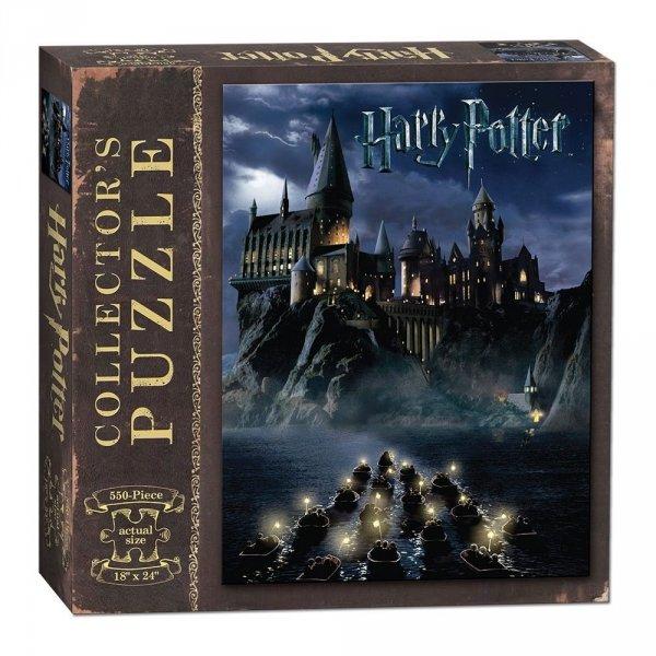 Harry Potter - Puzzle 550 el. Hogwart nocą
