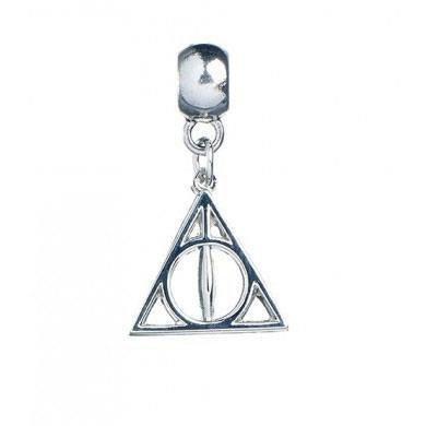 Zawieszka Charm Insygnia Śmierci - Harry Potter (posrebrzane)