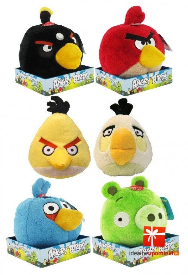 Pluszaki Angry Birds - 20 cm maskotka z dźwiękiem