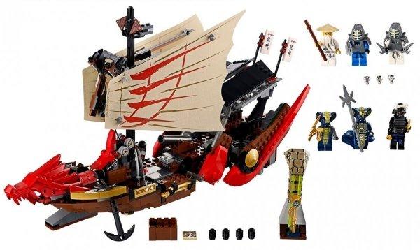 LEGO NINJAGO 9446 - PERŁA PRZEZNACZENIA