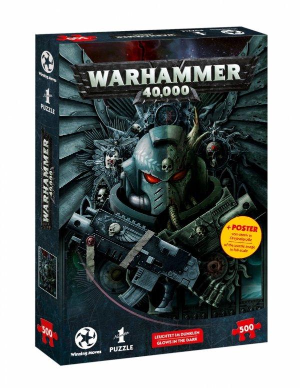 Warhammer - Puzzle 500 el. Świecące w ciemności Glow in the dark