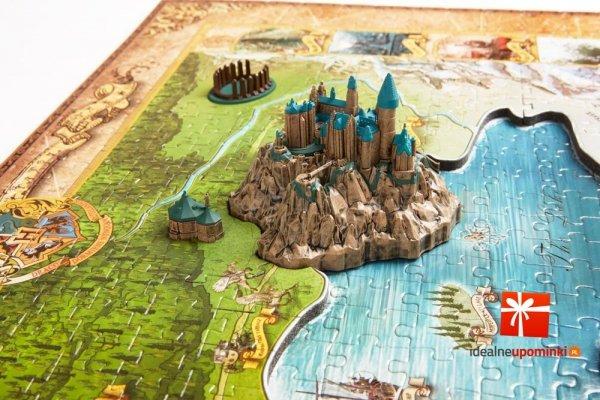 Harry Potter - Puzzle 4D Magiczny świat 892 el.
