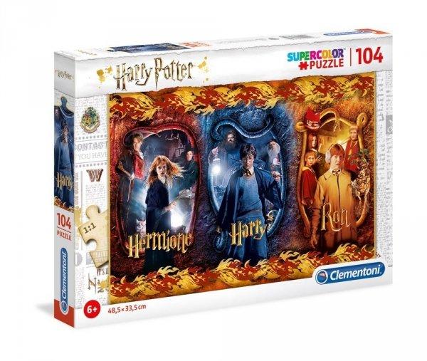 Harry Potter - Puzzle 104 el. Harry, Ron & Hermione