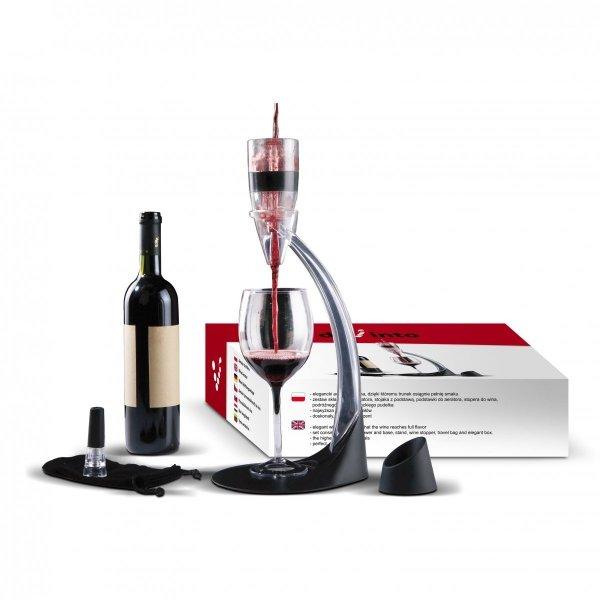 Aerator - napowietrzacz do wina aerator DiVinto Deluxe