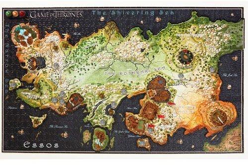 Gra o Tron - Puzzle Essos 3D 1350 el.