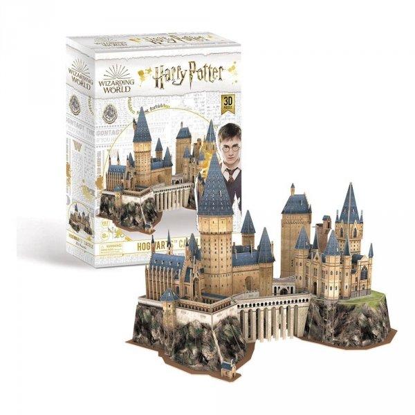 puzzle 3d zamek hogwart