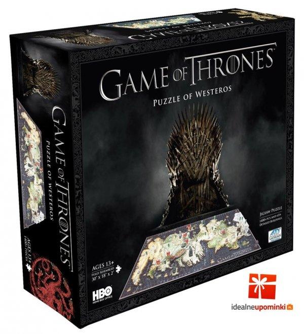 Gra o Tron - puzzle 3D 1465 el. Westeros
