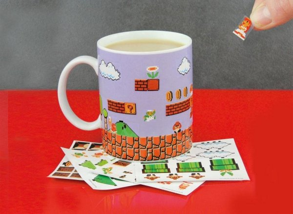 Super Mario Bros - Kubek Zrób To Sam
